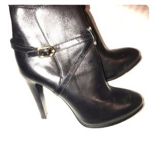 Tory Burch Leather Ankle Boots Authentic